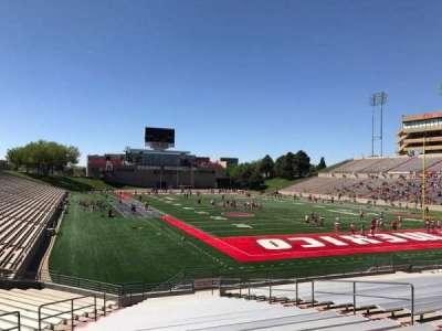 University Stadium (New Mexico), section: NI, row: 22, seat: 12