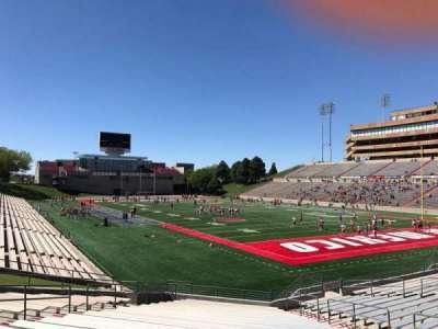 University Stadium (New Mexico), section: NJ, row: 22, seat: 12