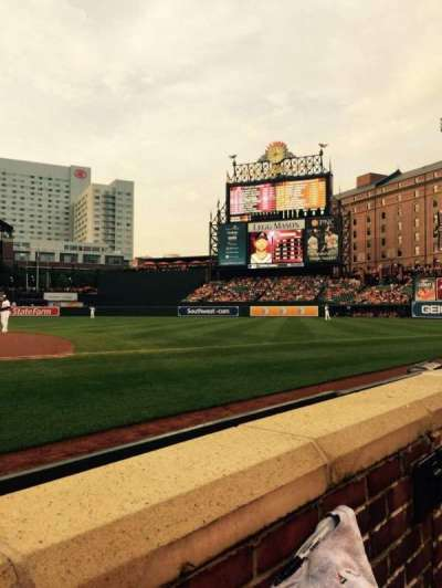 Oriole Park at Camden Yards section 18