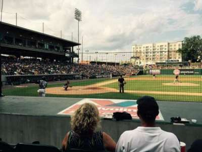BB&T Ballpark (Charlotte), section: 108, row: G, seat: 7