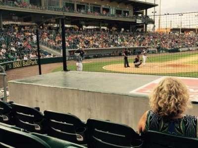 BB&T Ballpark (Charlotte), section: 108, row: G, seat: 7