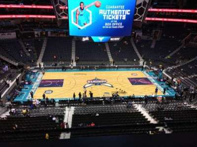 Spectrum Center, section: 209, row: A, seat: 9