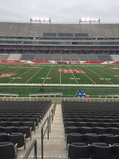 TDECU Stadium, section: 129, row: 21, seat: 18