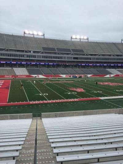 TDECU Stadium, section: 132, row: 22, seat: 25