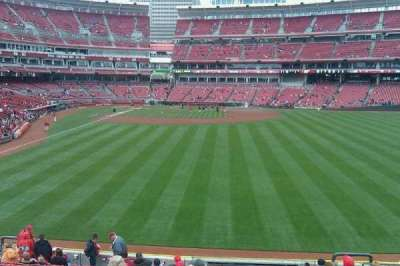 Great American Ball Park, section: 141, row: O, seat: 9