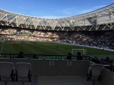 London Stadium section 17