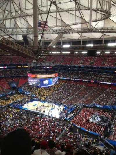 Georgia Dome, section: 317, row: 25, seat: 10