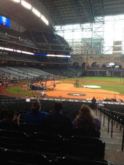 Minute Maid Park section 124