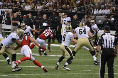 Mercedes-Benz Superdome, section: 104, row: 2, seat: 20