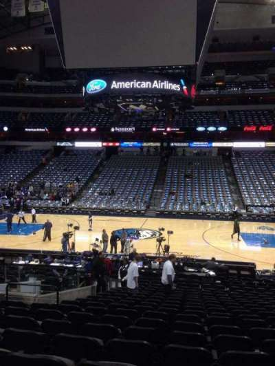 American Airlines Center section 118