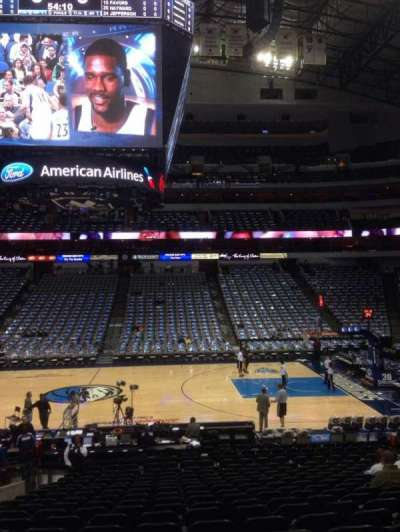 American Airlines Center, section: 118, row: T, seat: 11
