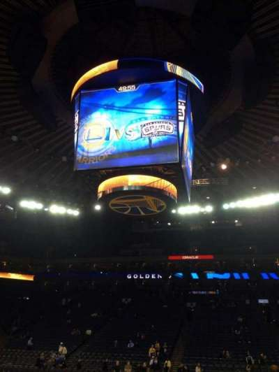Oracle Arena section 128