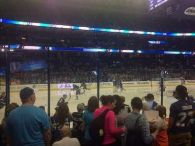 Amalie Arena section 118