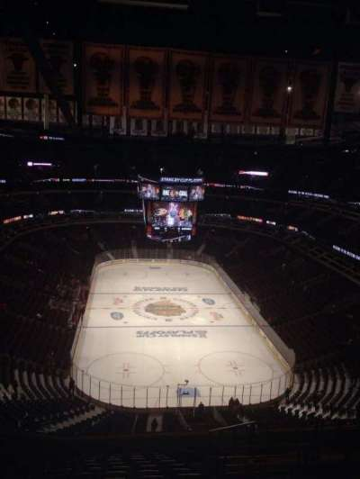 United Center, section: 327, row: 15, seat: 5