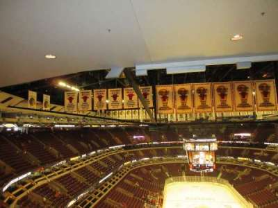 United Center section 327