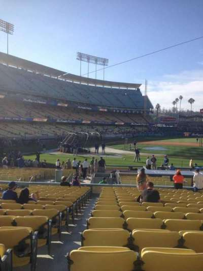 Dodger Stadium section 16fd
