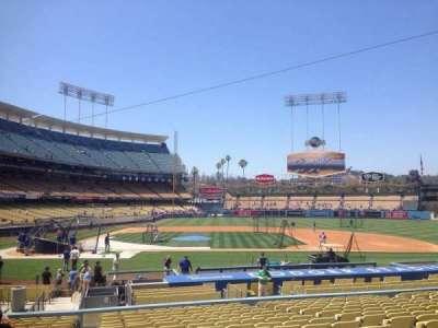 Dodger Stadium section 16fd