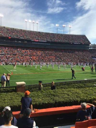 Jordan-Hare Stadium, section: 1, row: 7, seat: 1