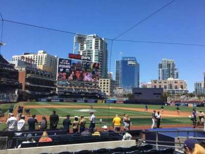 PETCO Park, section: 105, row: 14, seat: 1