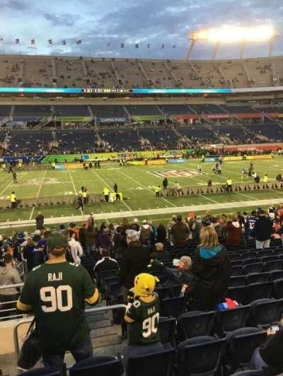 Camping World Stadium, section: 135, row: U, seat: 26