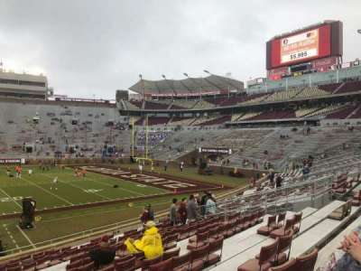 Bobby Bowden Field at Doak Campbell Stadium section 31