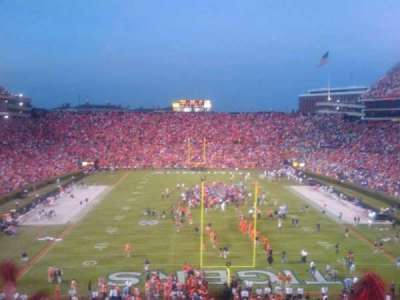 Jordan-Hare Stadium section Students section