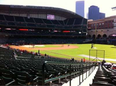 Minute Maid Park section 133