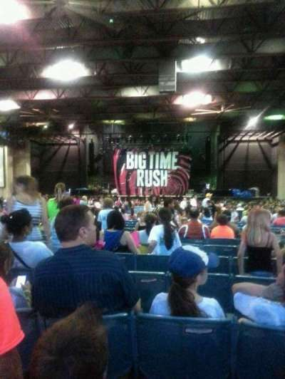 Gexa Energy Pavilion, section: 202, row: ccc, seat: 35
