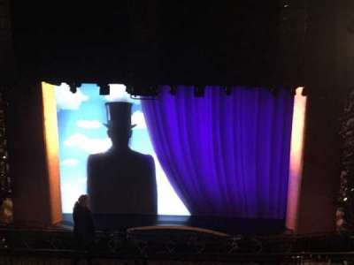 Lunt-Fontanne Theatre, section: RMEZZ, row: L, seat: 104