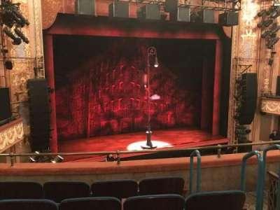 Longacre Theatre, section: MEZZL, row: E, seat: 10