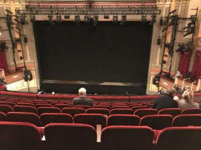 Neil Simon Theatre section Front Mezzanine C