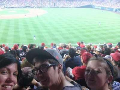 Nationals Park, section: 238, row: H, seat: 13