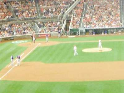 Nationals Park, section: 238, row: H, seat: 14
