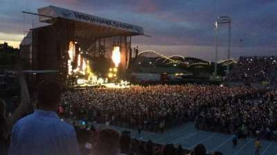 Hershey Park Stadium, section: 6, row: J, seat: 33