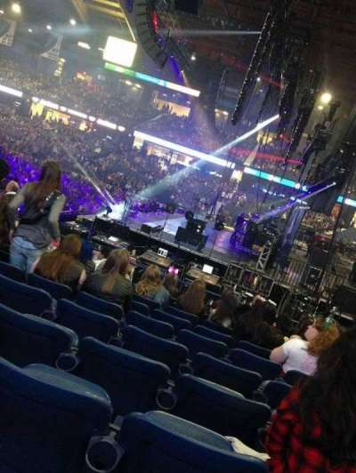Allstate Arena, section: 110, row: E , seat: 9