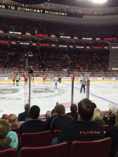 Wells Fargo Center, section: 113, row: 7, seat: 9