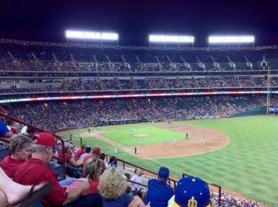 Globe Life Park in Arlington section 240