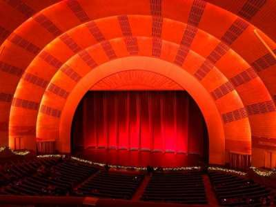 Radio City Music Hall section 2nd Mezzanine 3