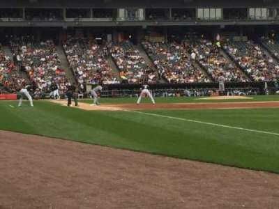 Guaranteed Rate Field, section: 114, row: AA, seat: 3