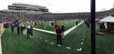 Notre Dame Stadium, section: 16, row: 3
