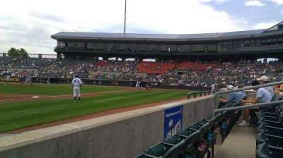 Principal Park, section: D, row: 2, seat: 10