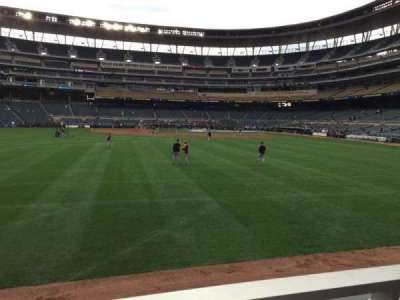 Target Field, section: 130, row: 1, seat: 1