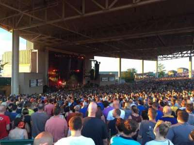 Klipsch Music Center, section: D, row: CC, seat: 28