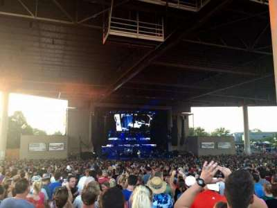 Klipsch Music Center, section: E, row: CC, seat: 12