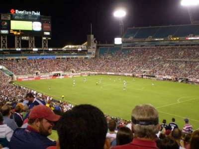 EverBank Field section 230