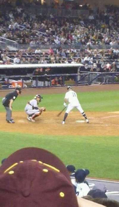 Yankee Stadium, section: 116, row: 11, seat: 10