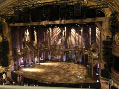 Richard Rodgers Theatre section F mezz right