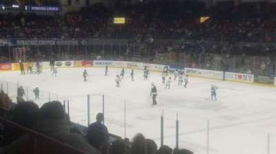 Upstate Medical University Arena, section: 2, row: E, seat: 1