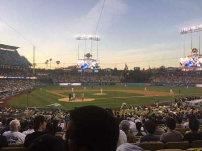Dodger Stadium, section: 6FD, row: U, seat: 8