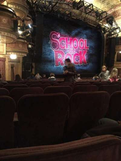 Winter Garden Theatre, section: Orchestra, row: Q, seat: 33